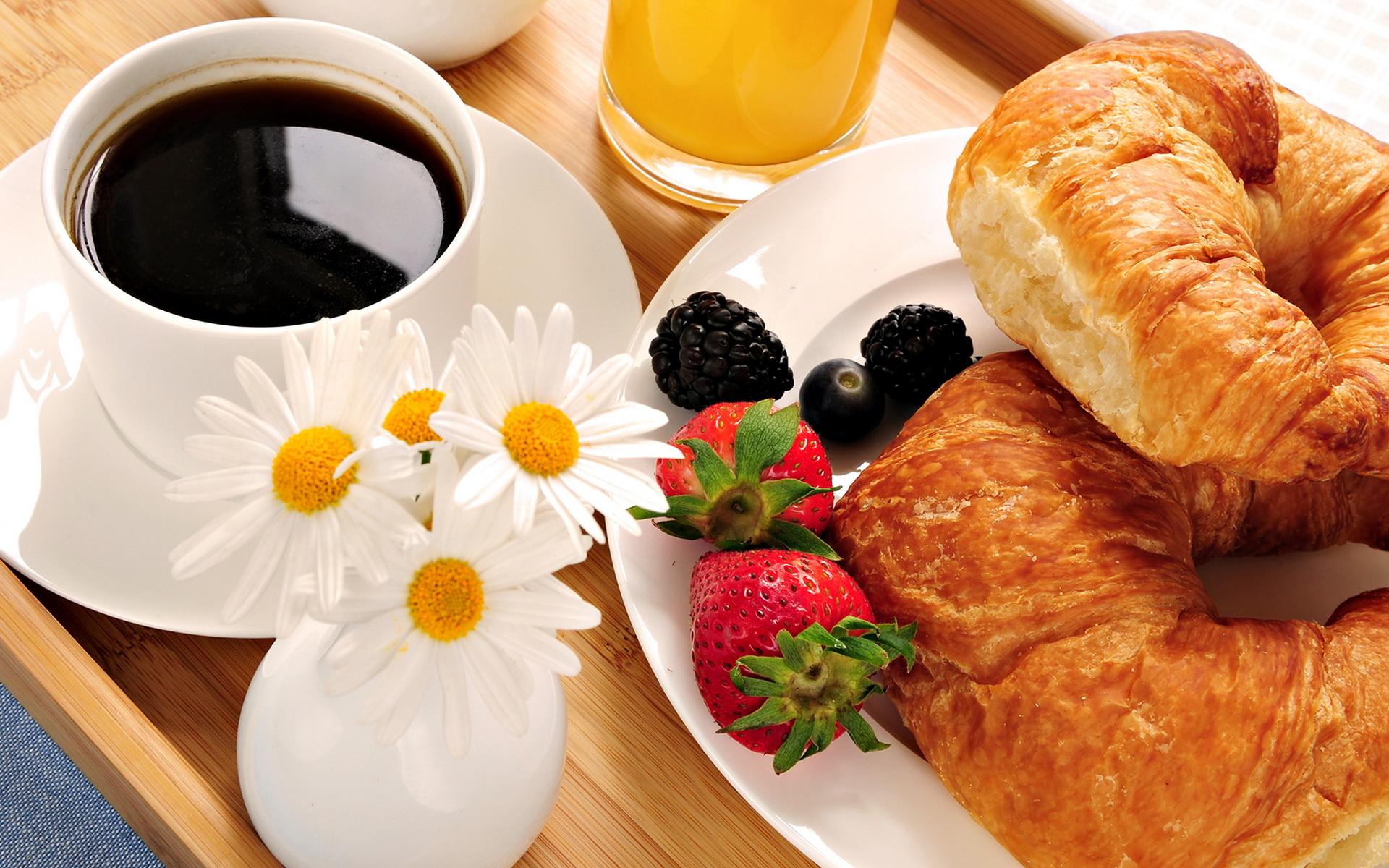 Там, за холмами, солнце запело. Сделаешь шаг, за тобою весна... Food_Differring_meal_Coffee_and_rolls_028683_