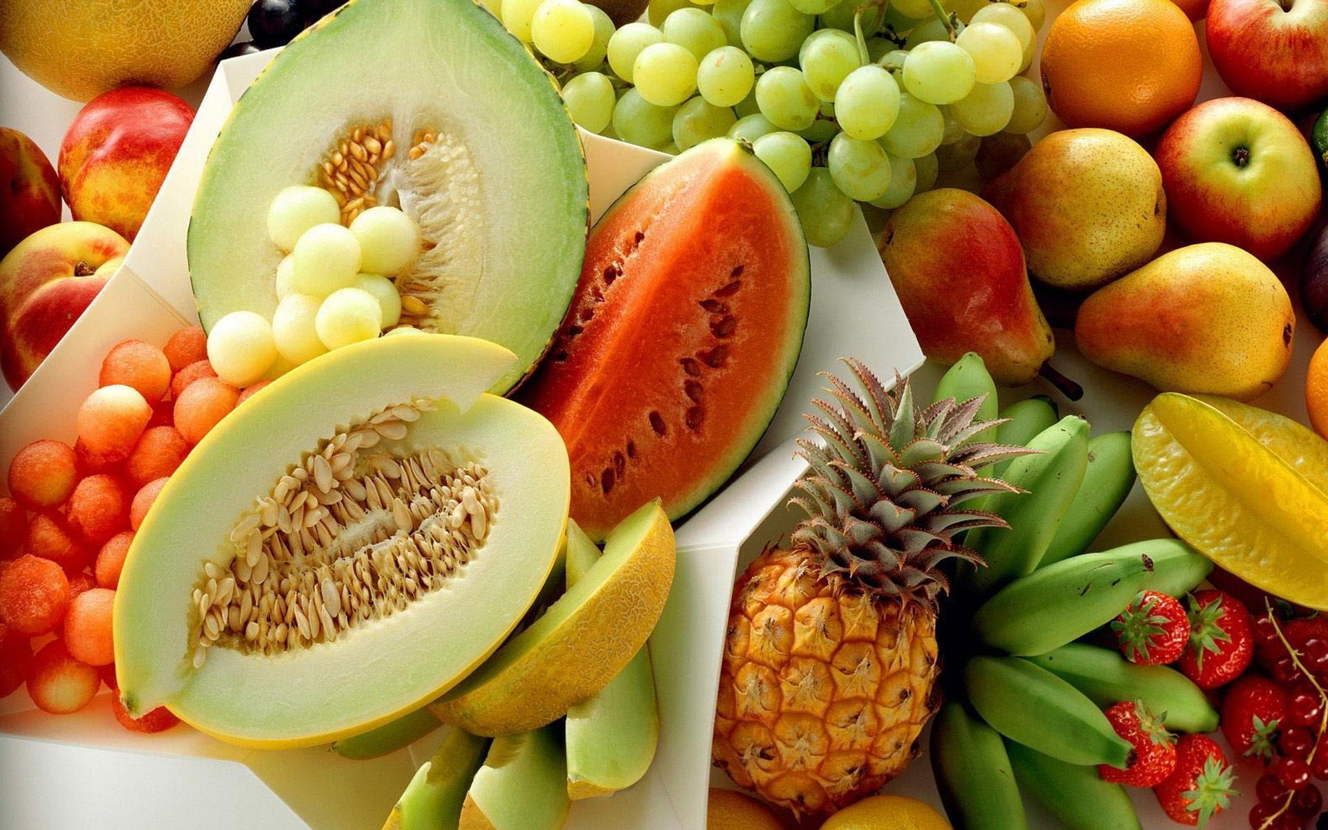 Полезные фрукты в картинках
