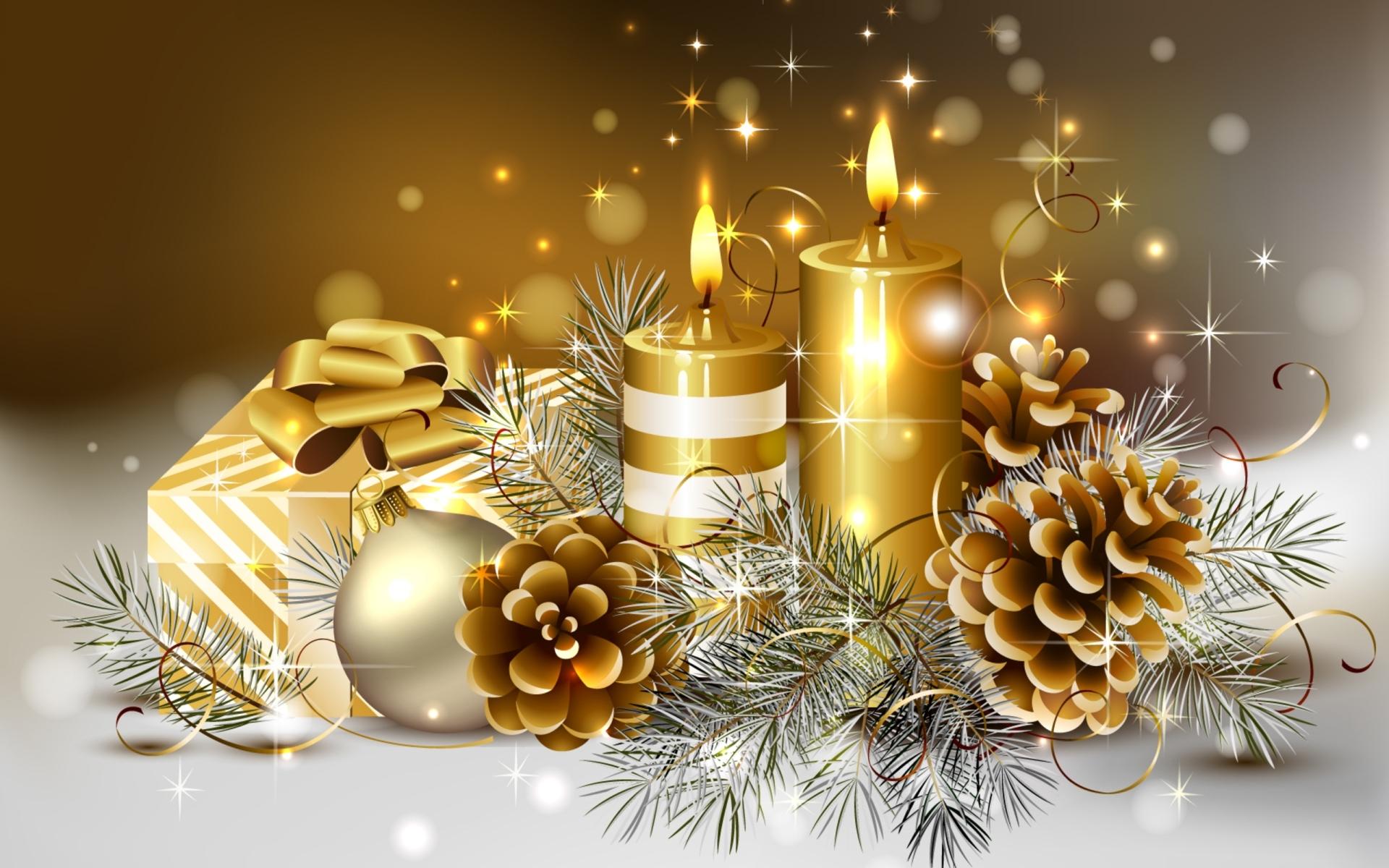 Рождественские мотивы - обои для рабочего стола, картинки, фото