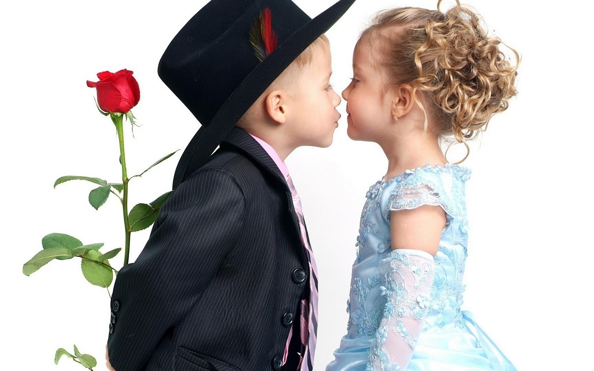 Мальчик и девочка - обои для рабочего стола, картинки, фото