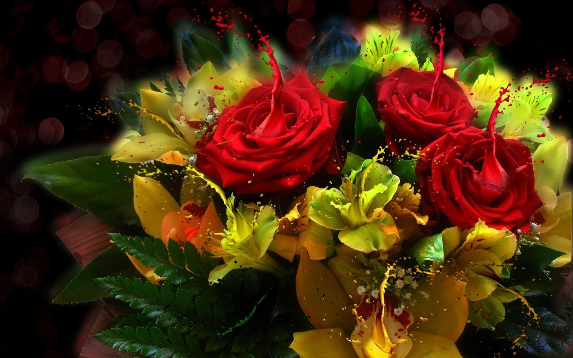 Открытки в 3д-цветы смотреть онлайн, смешные картинки