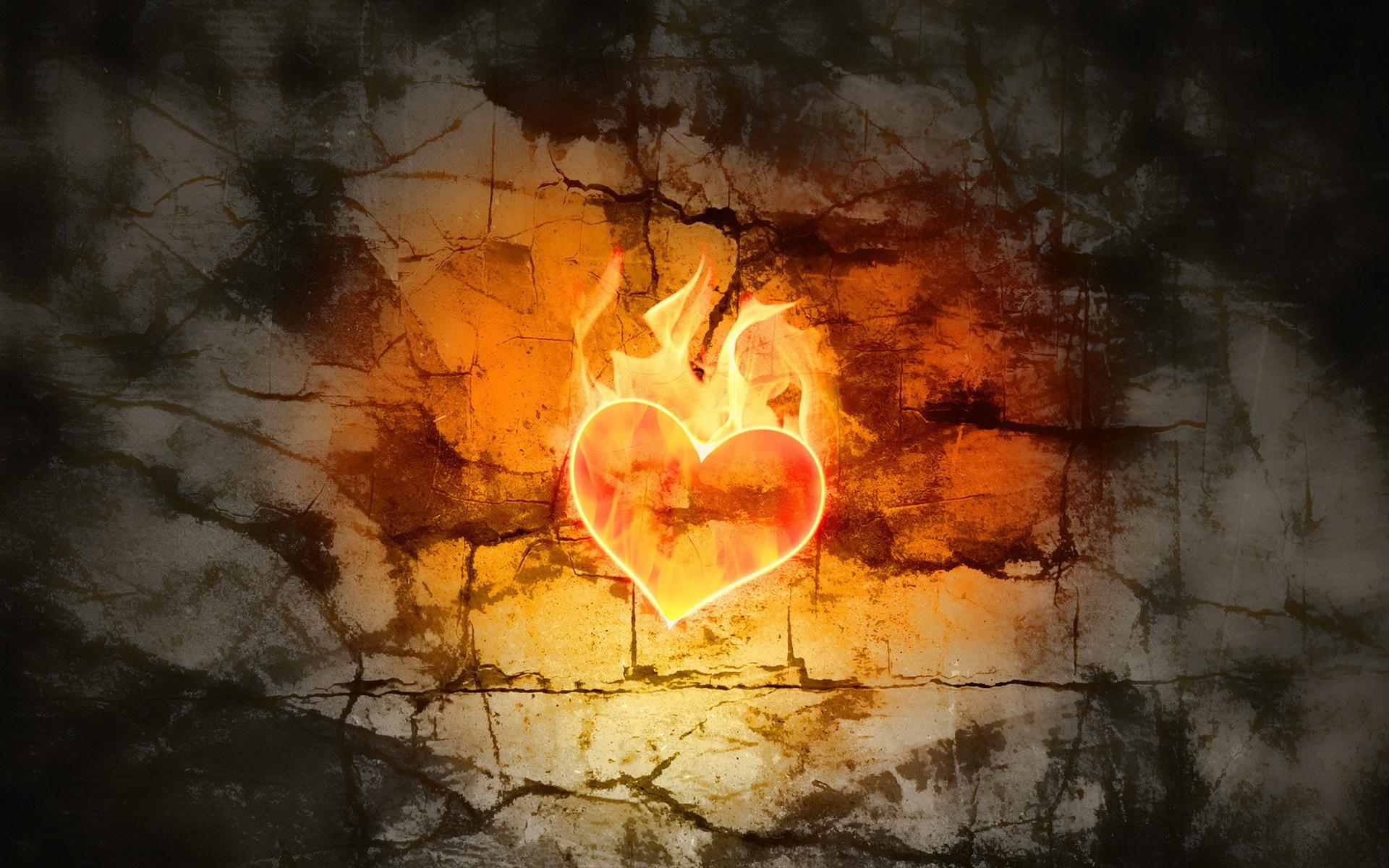 Картинка, сердце горящее картинки