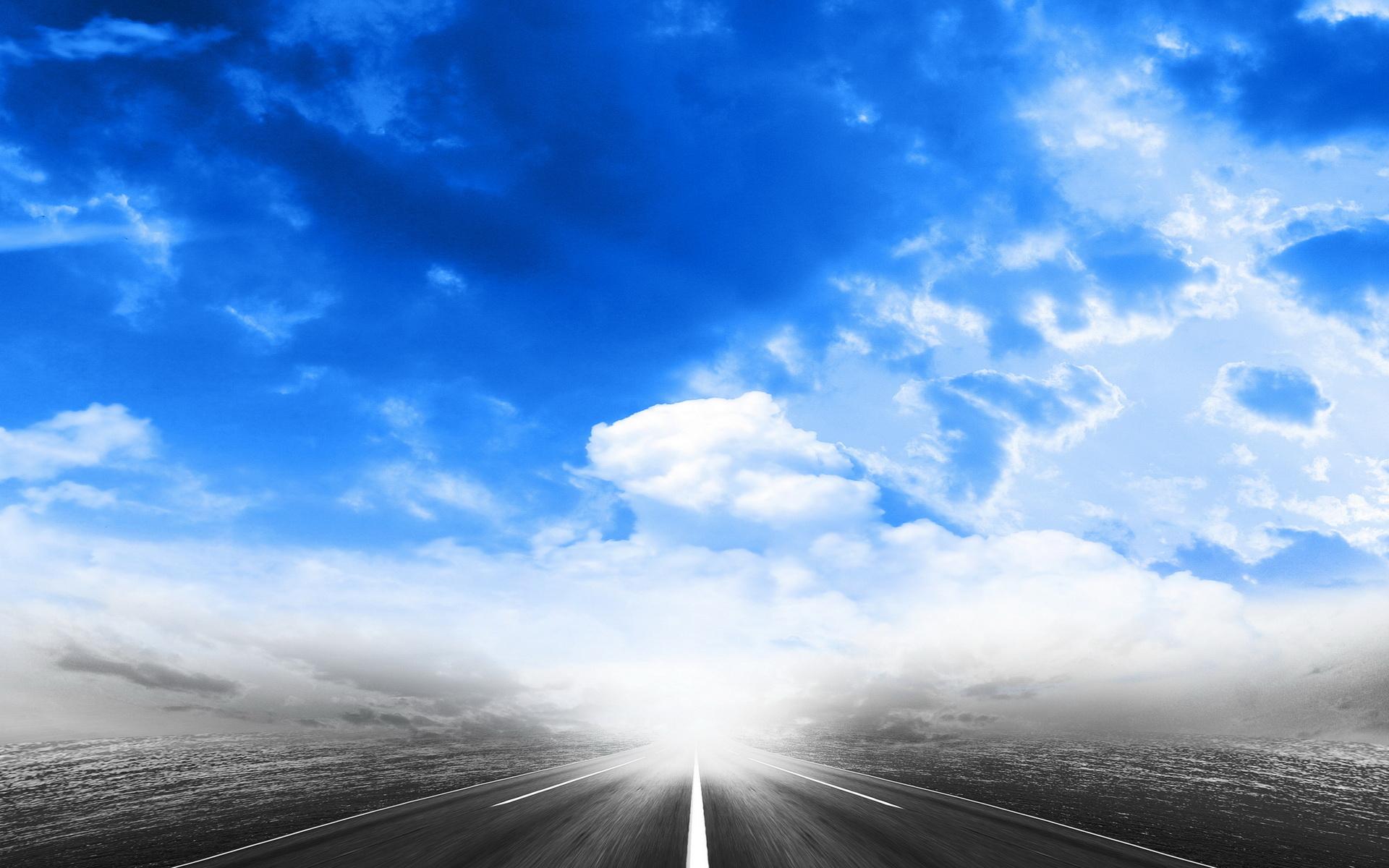 как красивые картинки небо и дорогами кобуры может