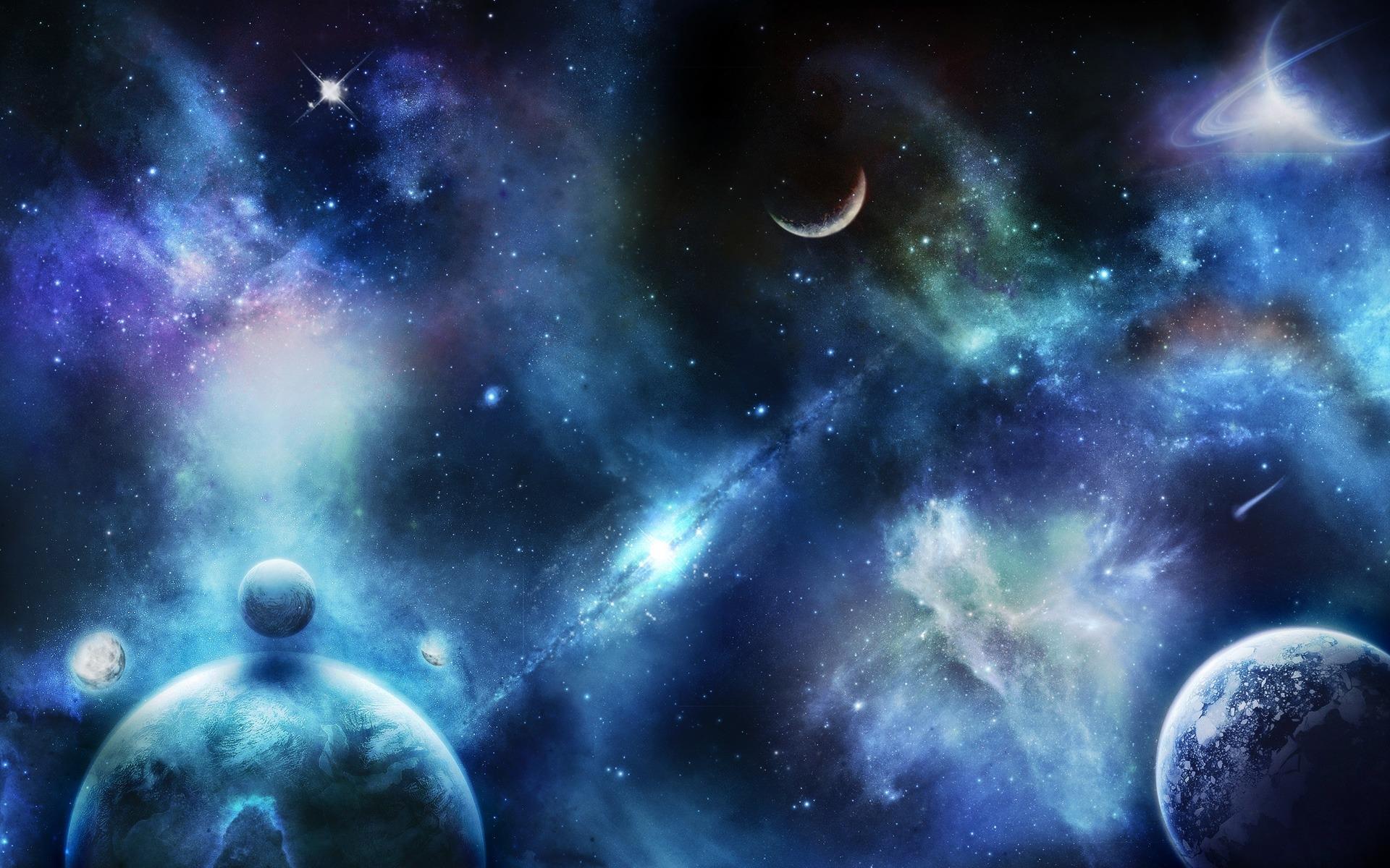 Открыток, картинки с галактикой на рабочий стол