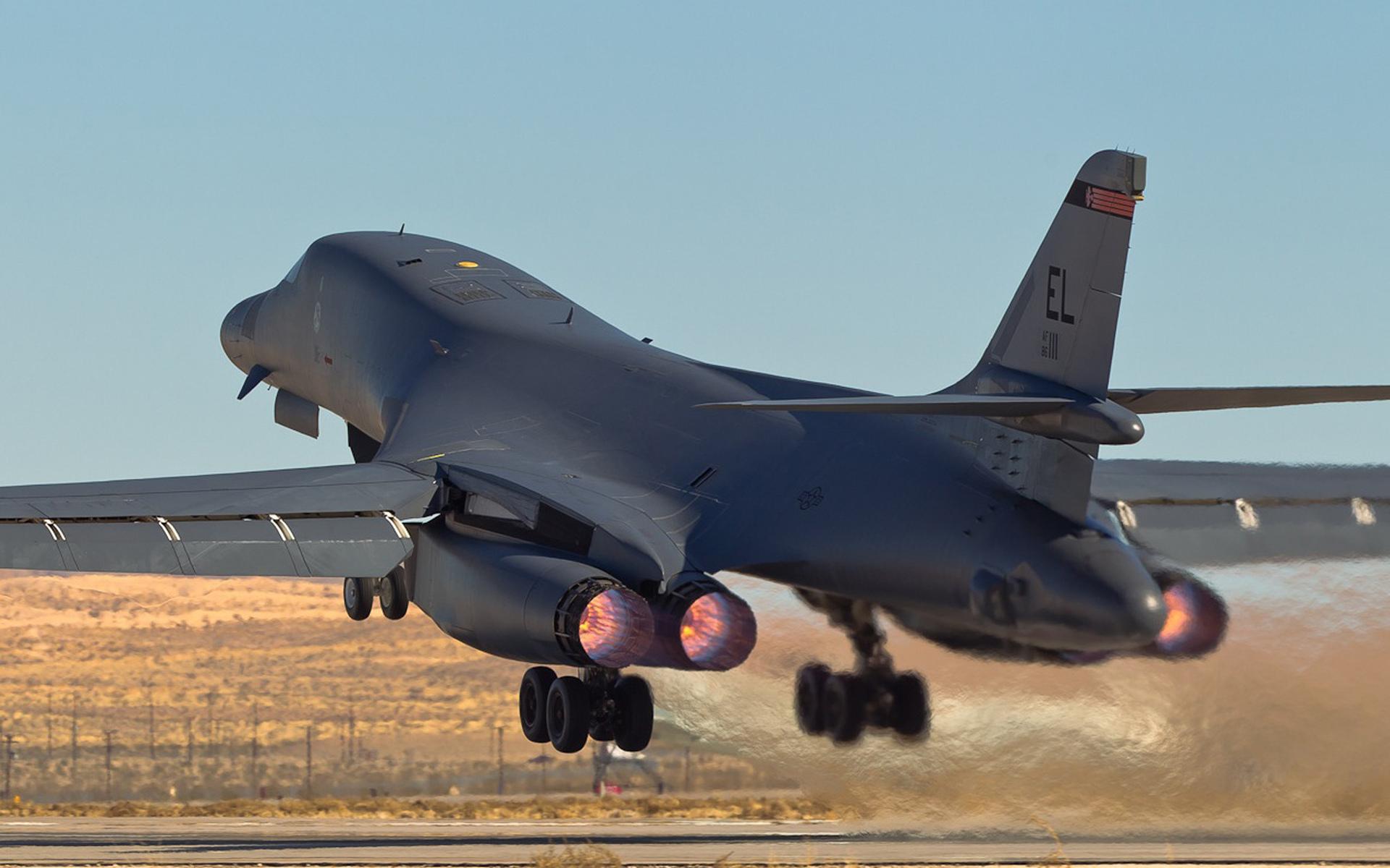 B-1B Lancer бомбардировщик - обои для рабочего стола, картинки, фото