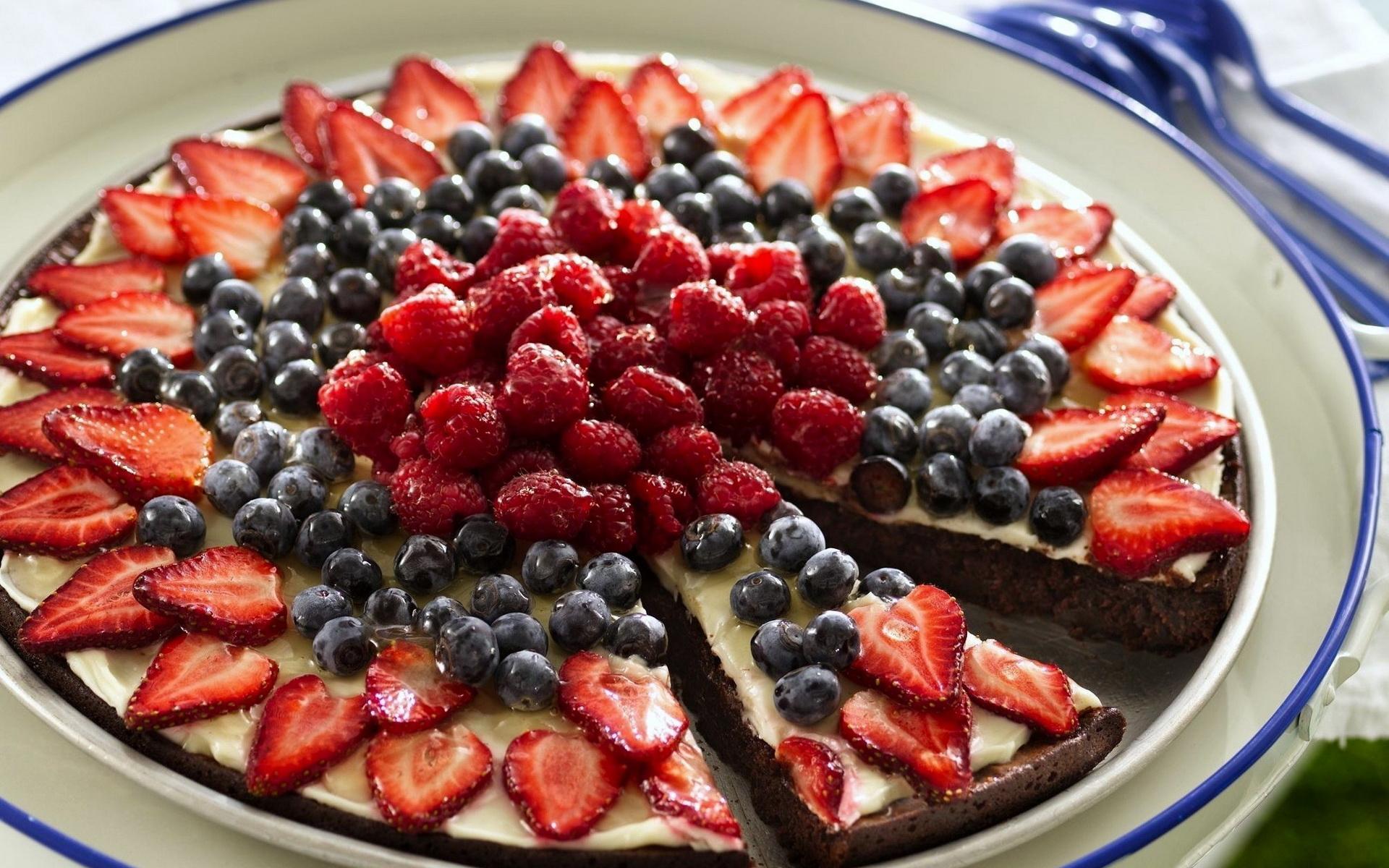 Картинки пирогов с ягодами