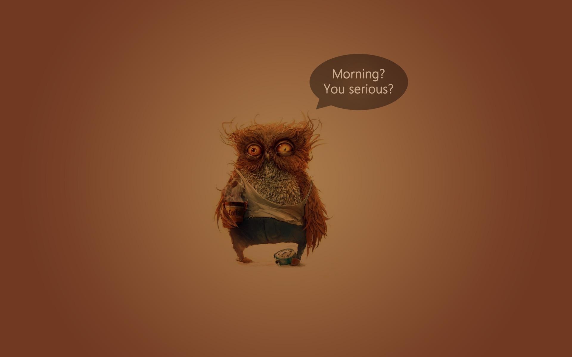 День, смешная картинка невыспавшегося