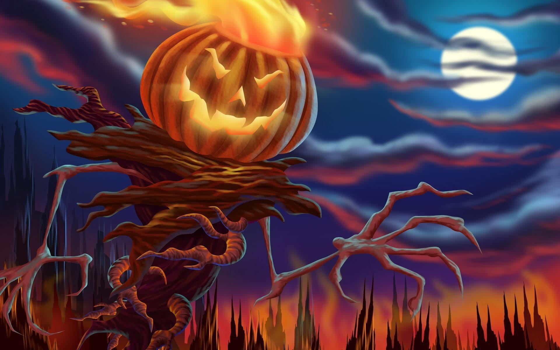 Halloween scarecrow - Halloween Scarecrow Wallpaper