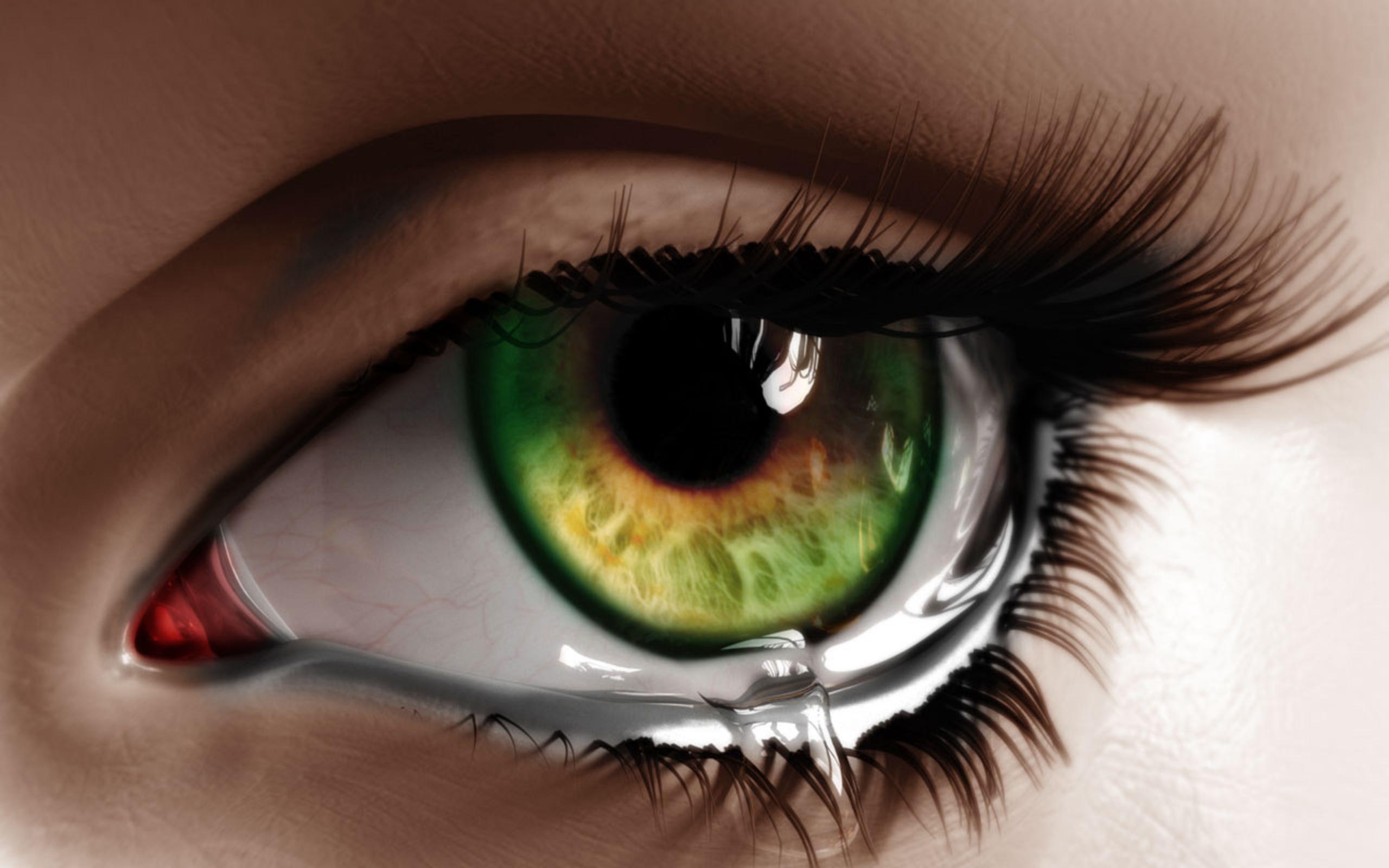 Классные картинки глаз, для