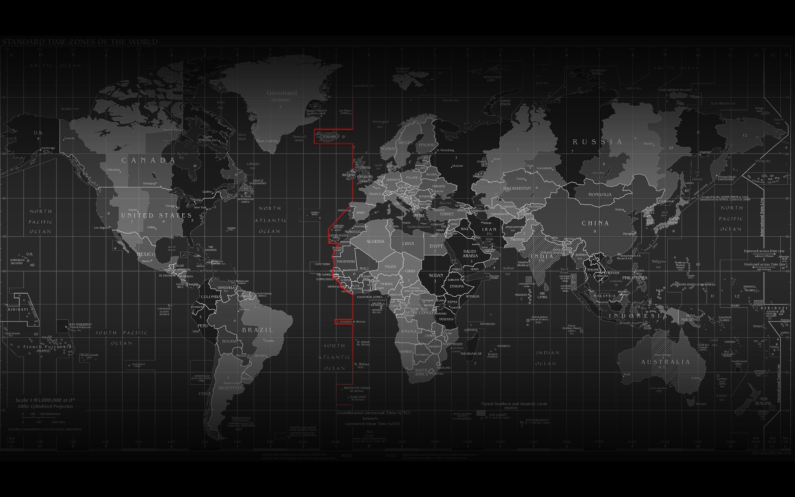 Карта мира политическая обои