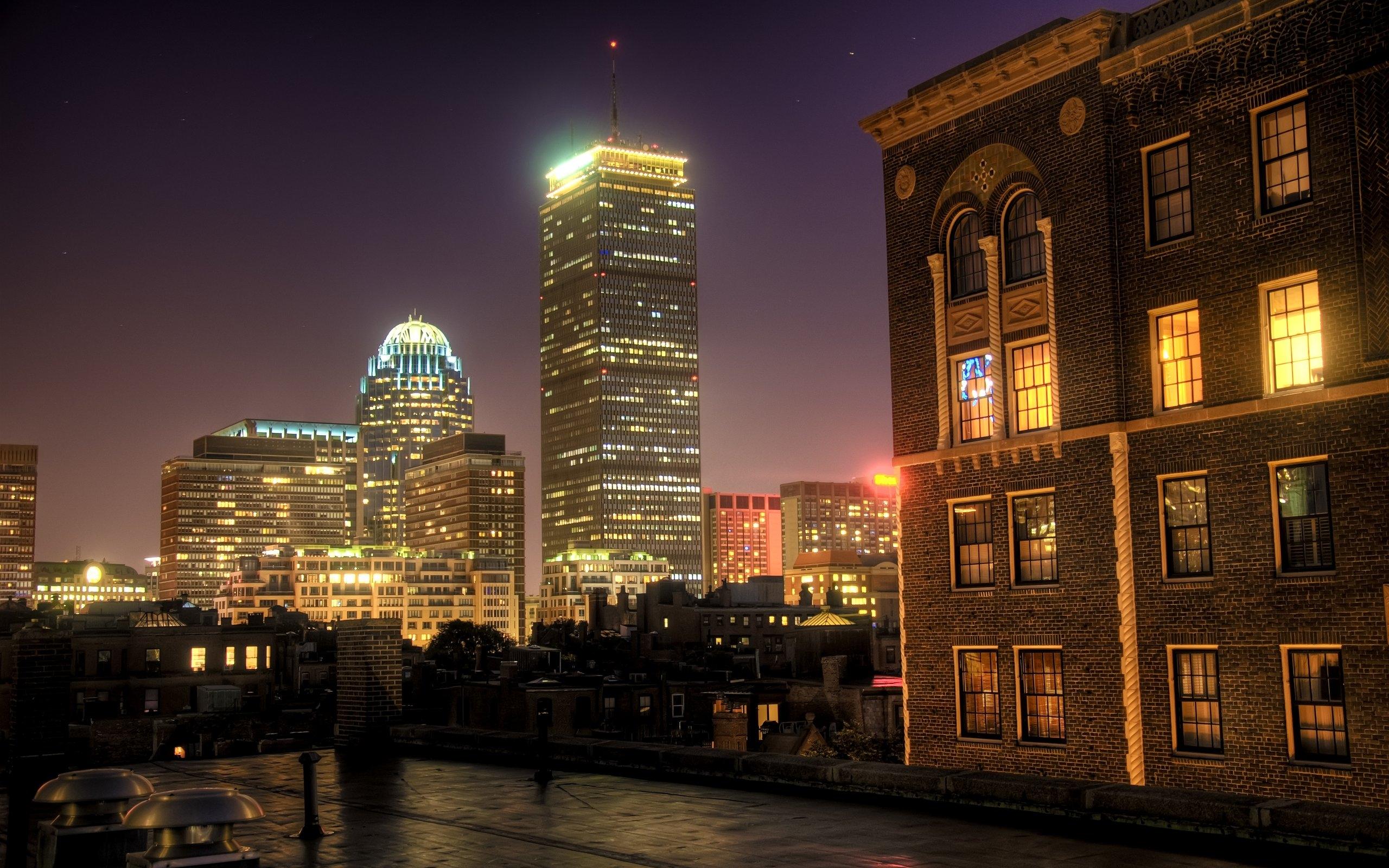ночной бостон фото это, сути