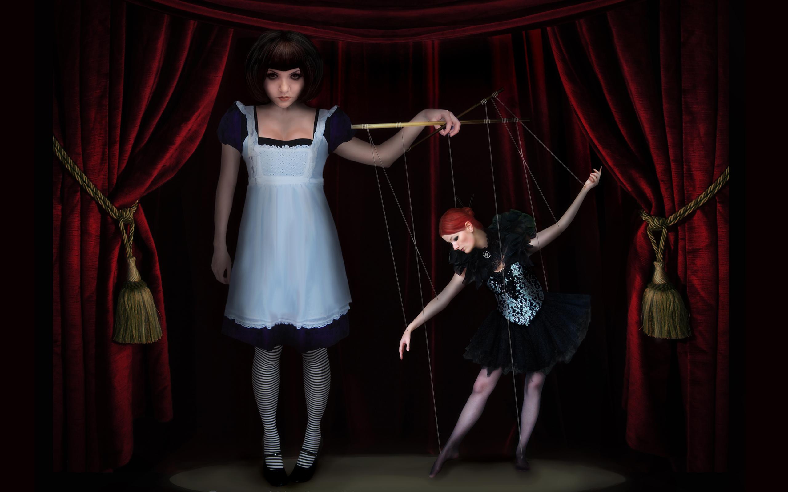 Кукловод с девушкой фото