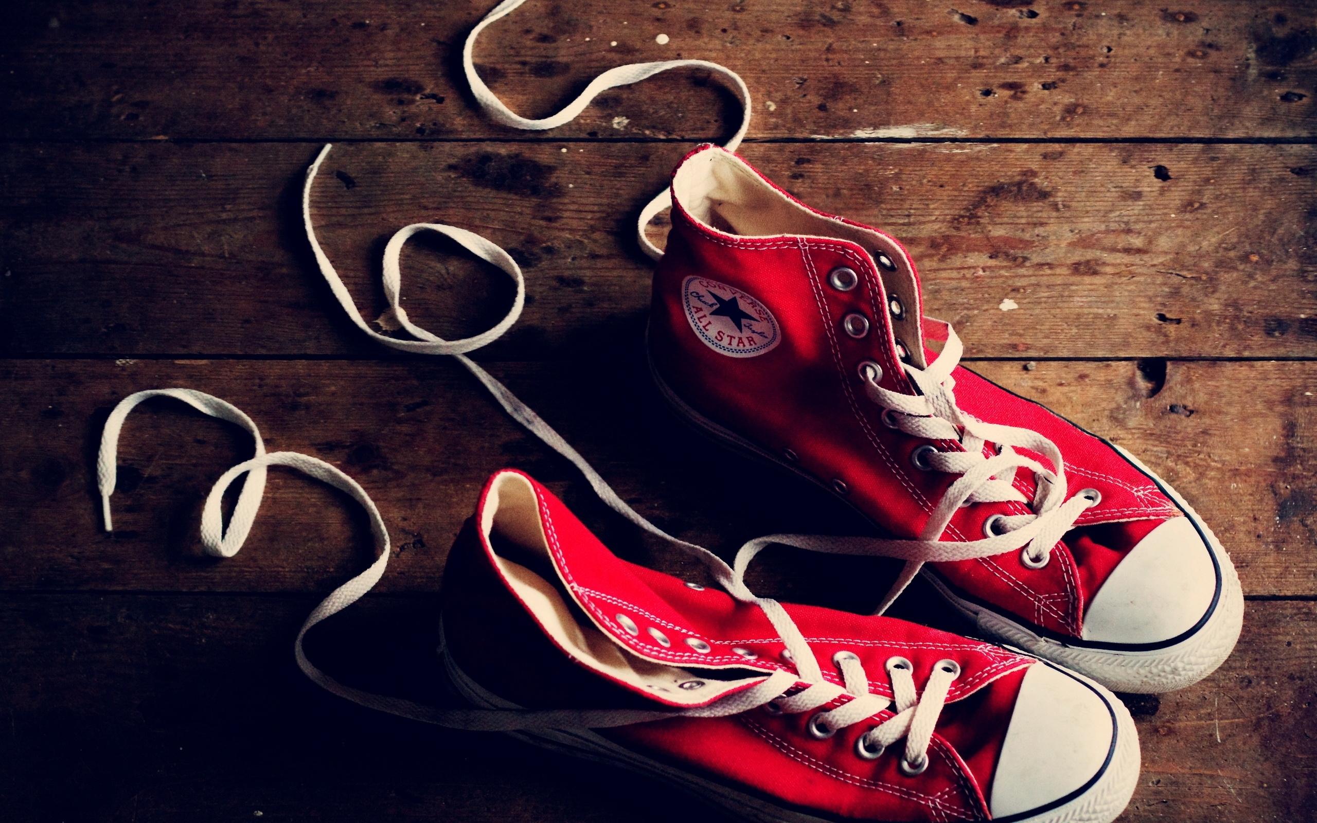 Разное фото, разное, красные, кеды, шнурки, фон, обои.