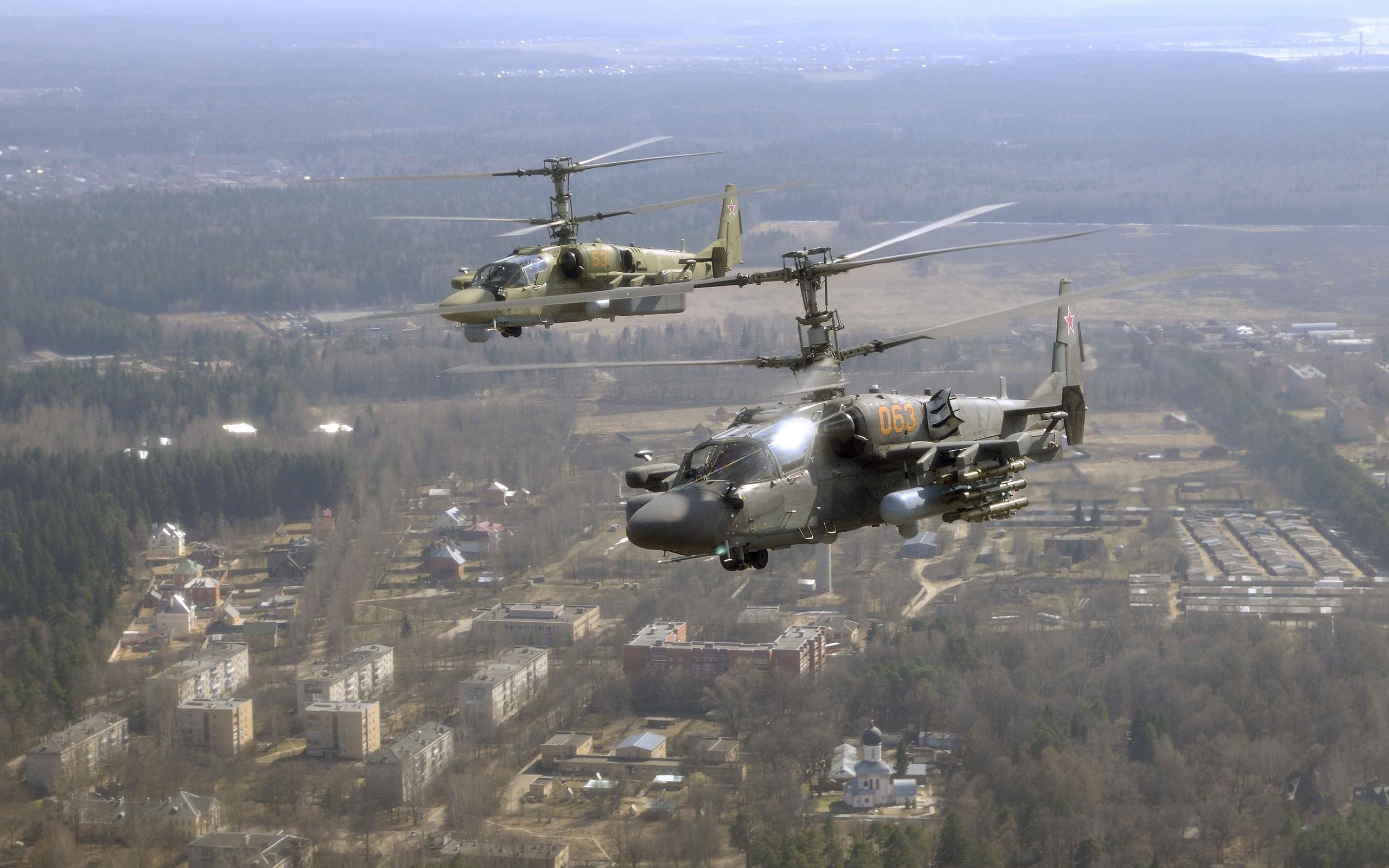 Zastaki.com - вертолет КА 52
