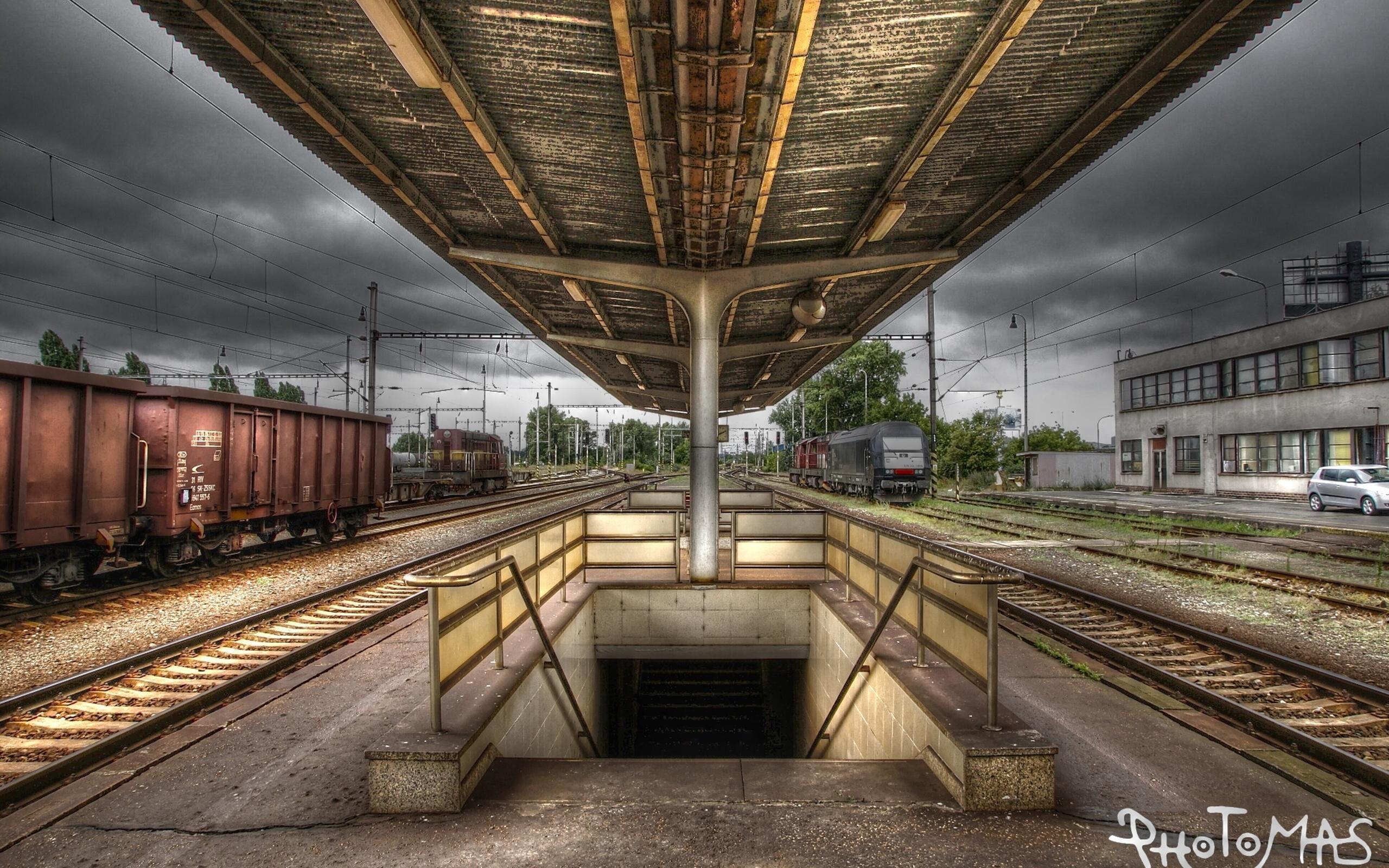 Железнодорожная дорога