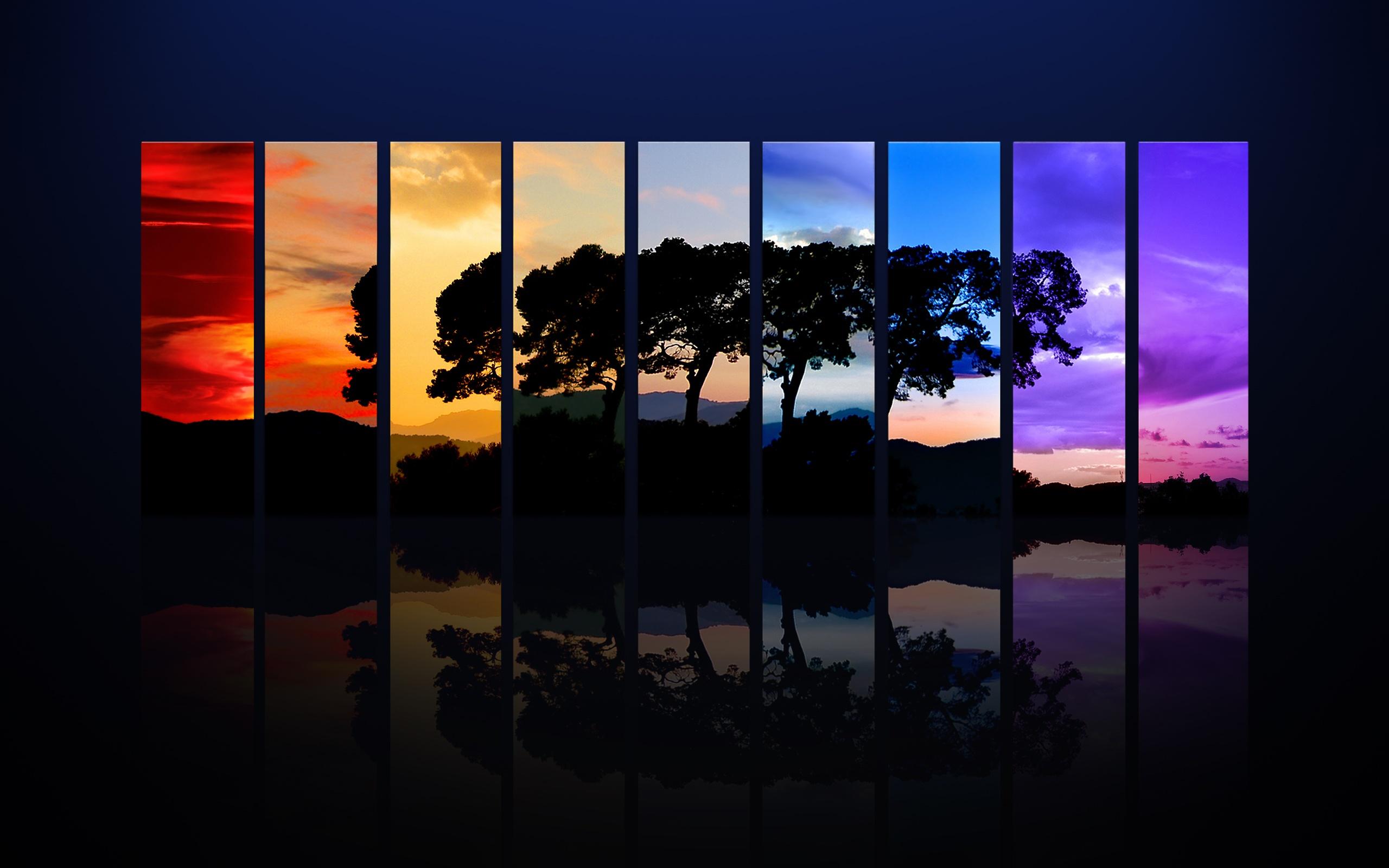 Zastaki.com - Спектр деревьев