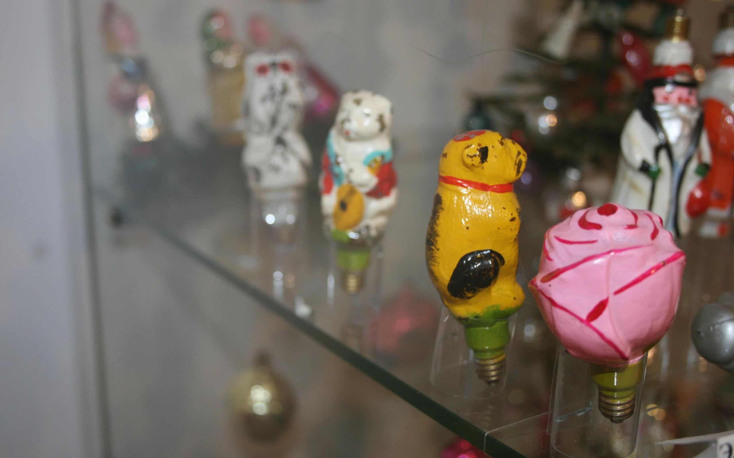 В москве открылась выставка елочных игрушек