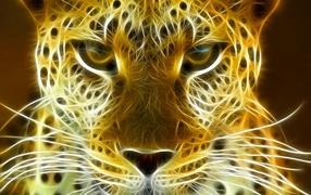 3D-leopard