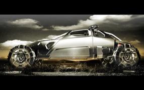 Тачка из будущего от Mercedes