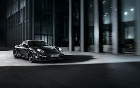 Porsche-Cayman Black Edition