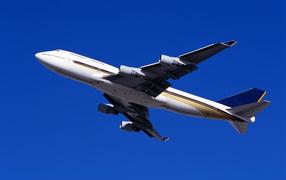 A passenger airliner