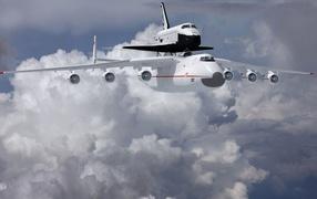 Ан-225 и буран