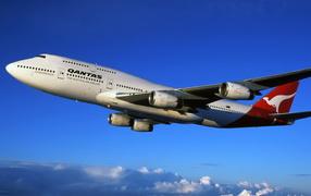 Boeing 747 australian airlines