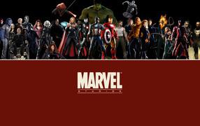 Marvel comix  heroes