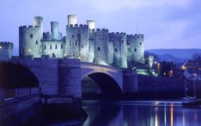 Castle near the river