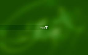 Windows 7 green