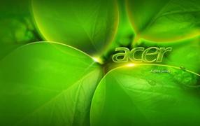 Зеленый Acer Aspire