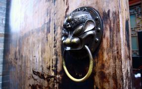 Chinese iron doors