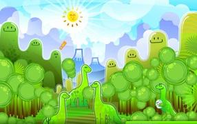 Динозавры из мультфильма