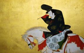 Sakai Hoitsu Japanese theme