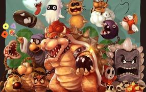 Super Mario Enemies