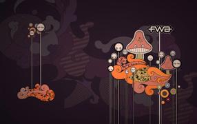 Funny Mushrooms