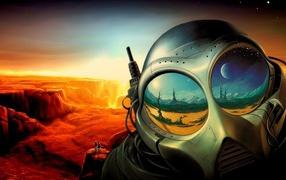 На неизвестной планете