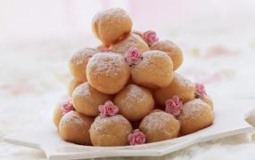 Round donuts