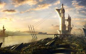 Речной город