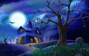 Дом у кладбища / Хэллоуин