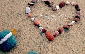 Heart St Valentin Day