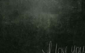 Chalk on a wall