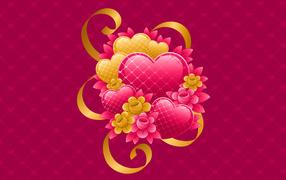 любовь в сердце