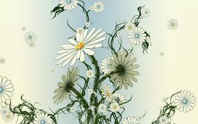 Хорошие белые цветы