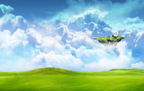 Небесный остров