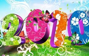 Bright New Year 2010