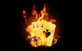 Карты в огне