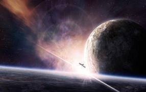 Satellite around the planets
