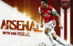Arsenal. Robin van Persie