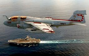 Американский военный самолет Скорпион